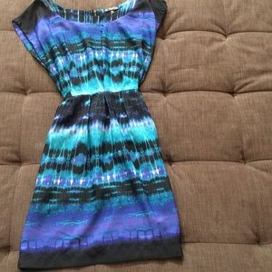 NWOT multi color dress by BeBop, from Nordstrom